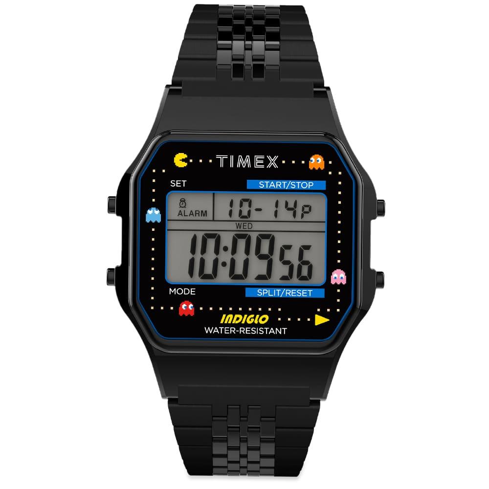 Timex x Pacman Timex 80 Digital Watch - Black