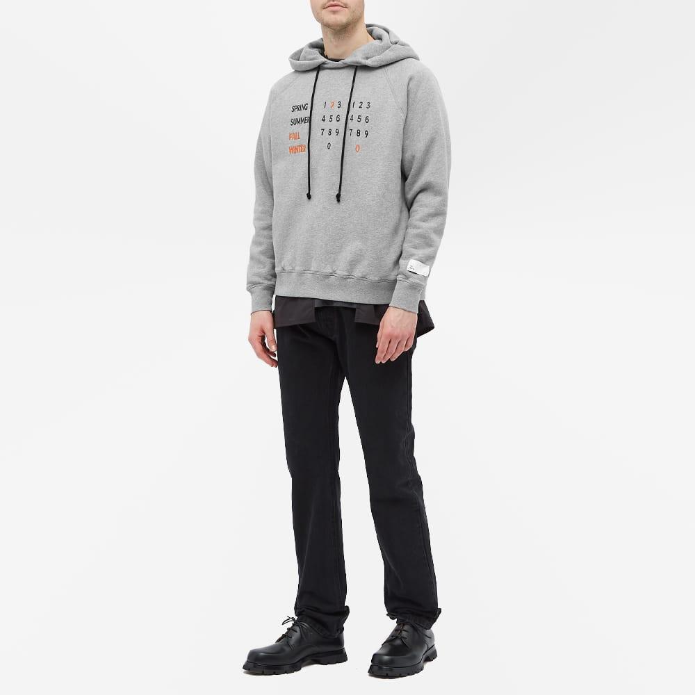 4SDESIGNS Embroidered Fleece Hoody - Light Grey