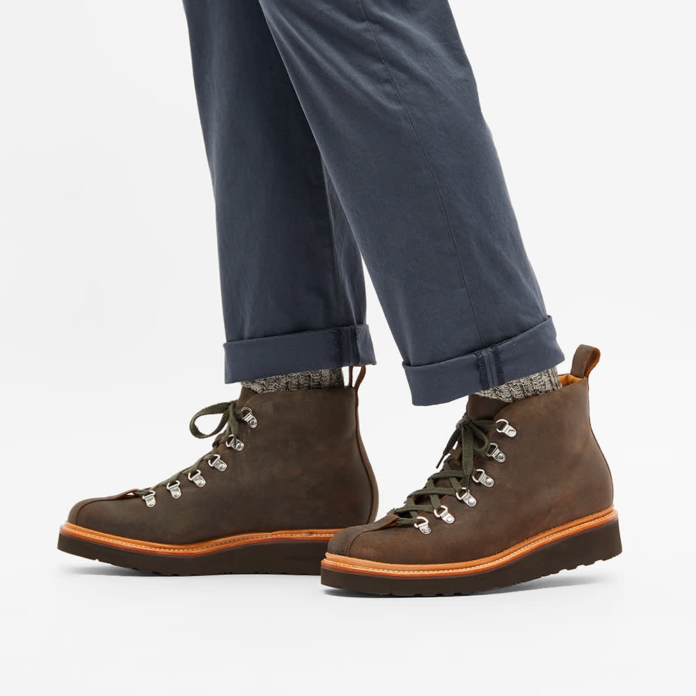 Grenson Bobby Mountain Boot - Brown Rugged Suede