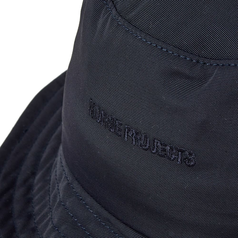 Norse Projects Nylon Oxford Bucket Hat - Dark Navy