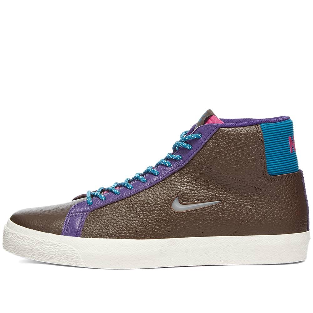Nike SB Zoom Blazer Mid PRM C - Baroque Brown