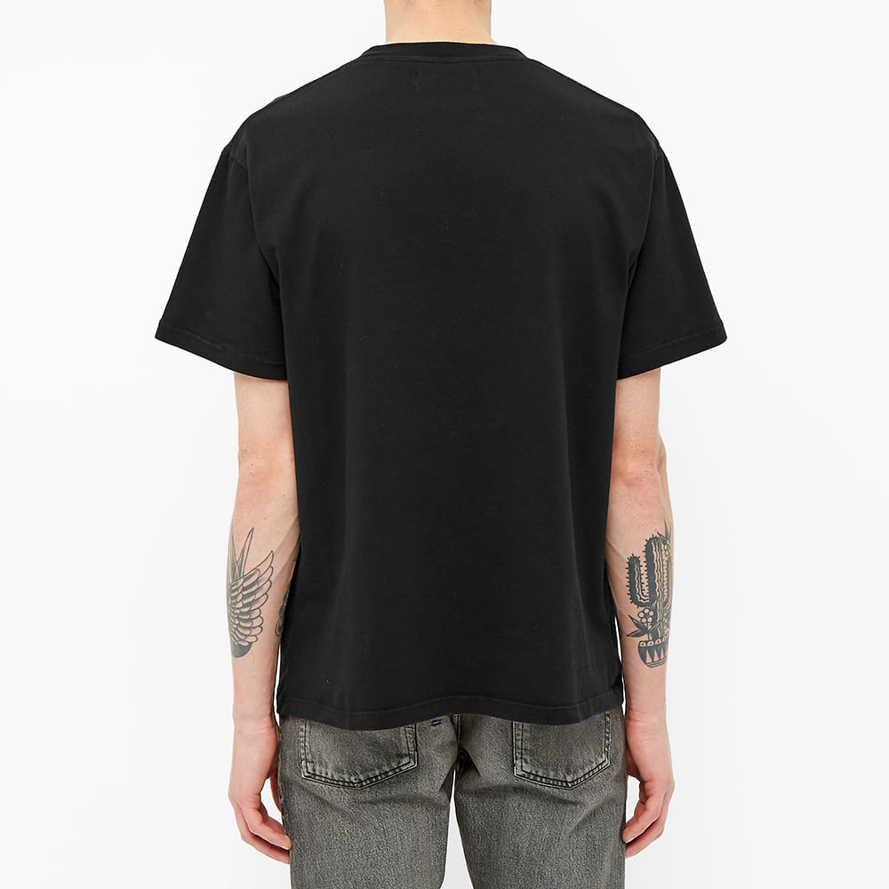424 Box Logo Embroidered Essential Tee - Black