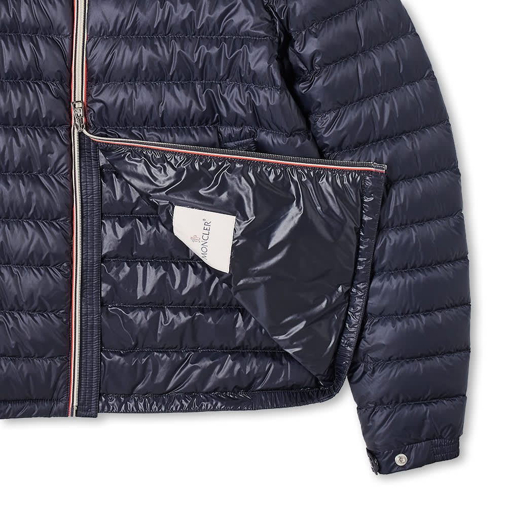 Moncler Daniel Tricolour Zip Down Jacket - Navy