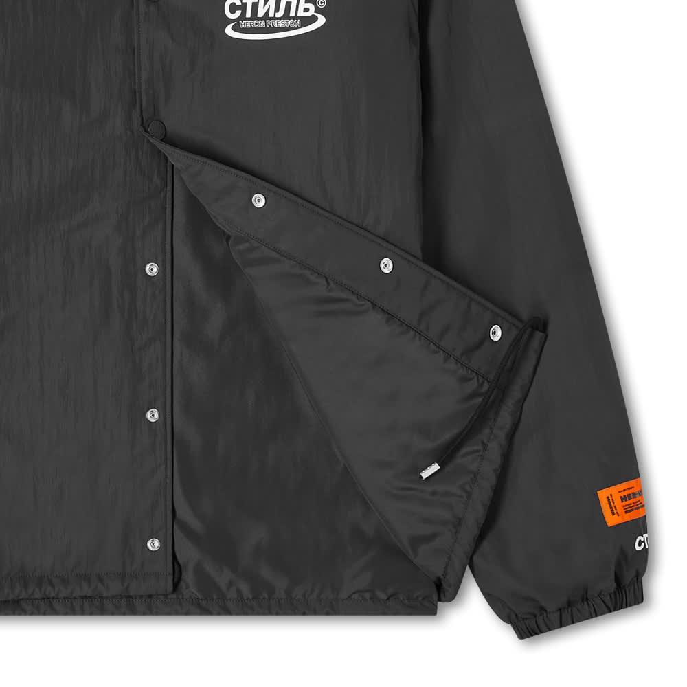 Heron Preston CTNMB Coach Jacket - Black