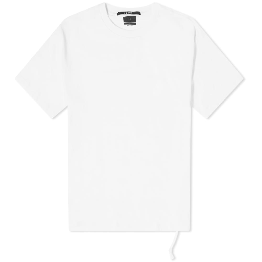 Ksubi Insurgent Cross Logo Tee - White