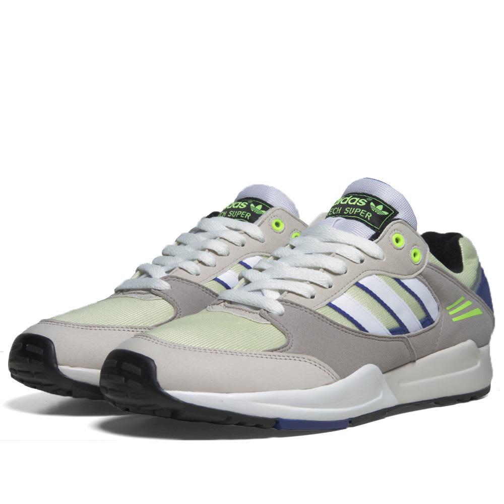 Adidas Tech Super - Hazard Yellow & Running White
