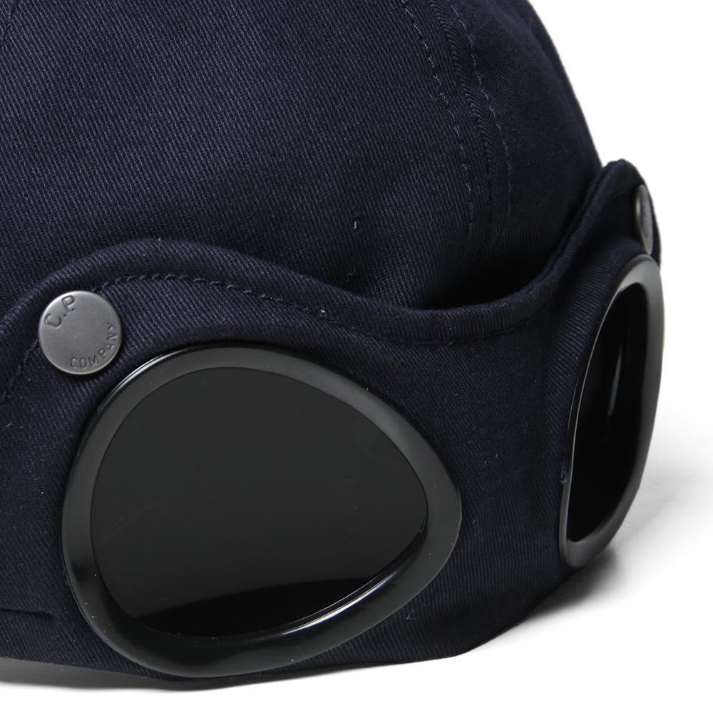 C.P. Company Goggle Cap  - Blue