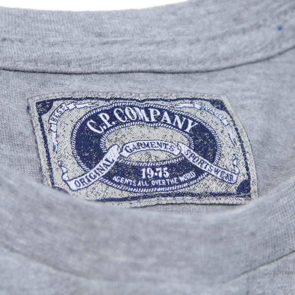 C.P. Company Hand Painted Ltd Edition Tee - Grey Melange