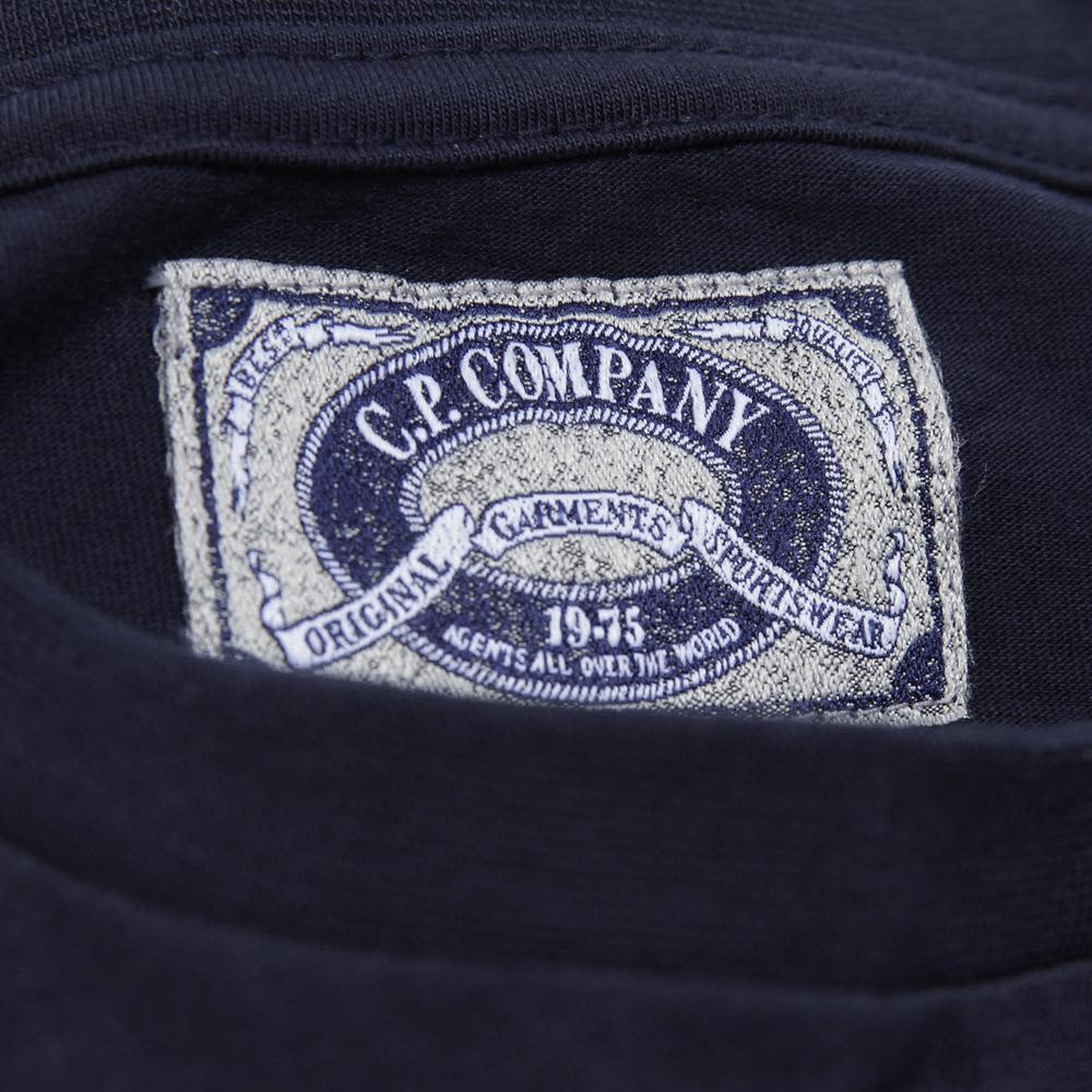 C.P. Company Hand Painted Ltd Edition Tee - Night Blue