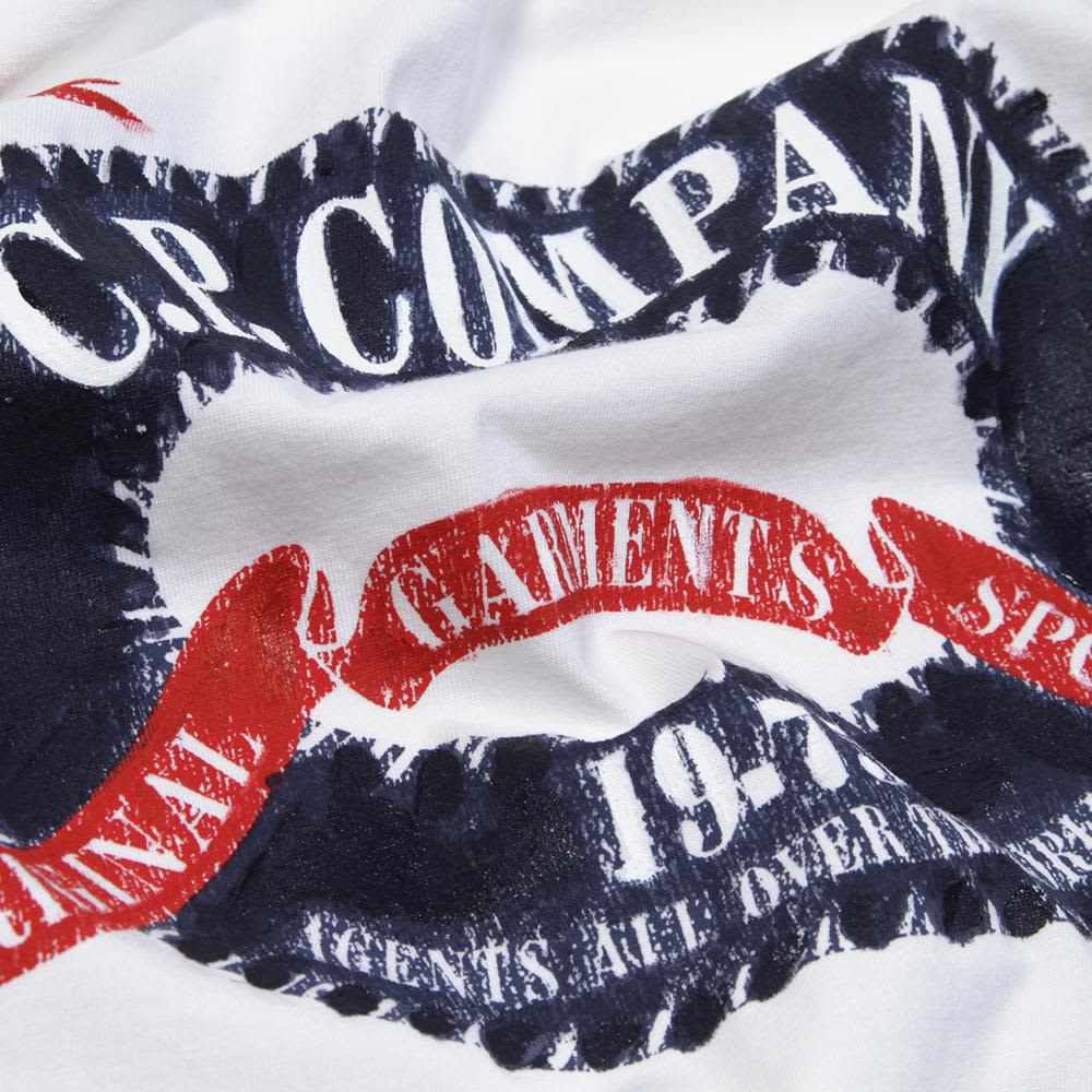 C.P. Company Hand Painted Ltd Edition Tee - White