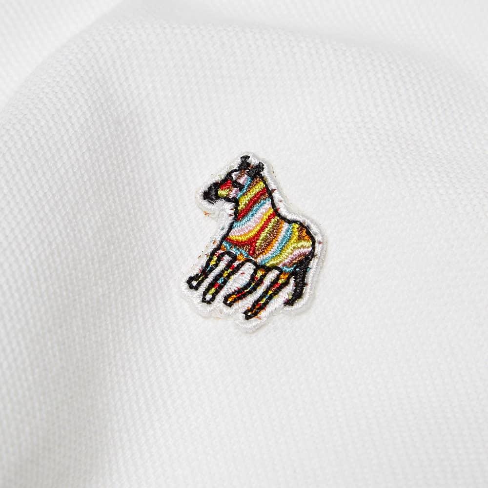 Paul Smith Zebra Polo - White