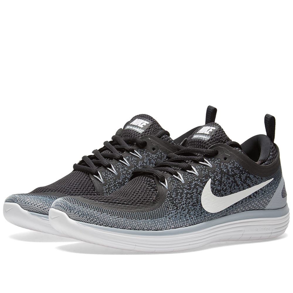 nike free run distance black