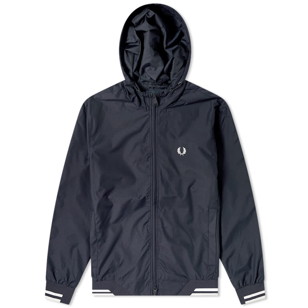 Fred Perry Hooded Brentham Jacket - Navy