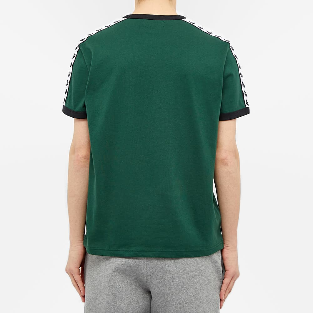 Fred Perry Taped Ringer Tee - Ivy