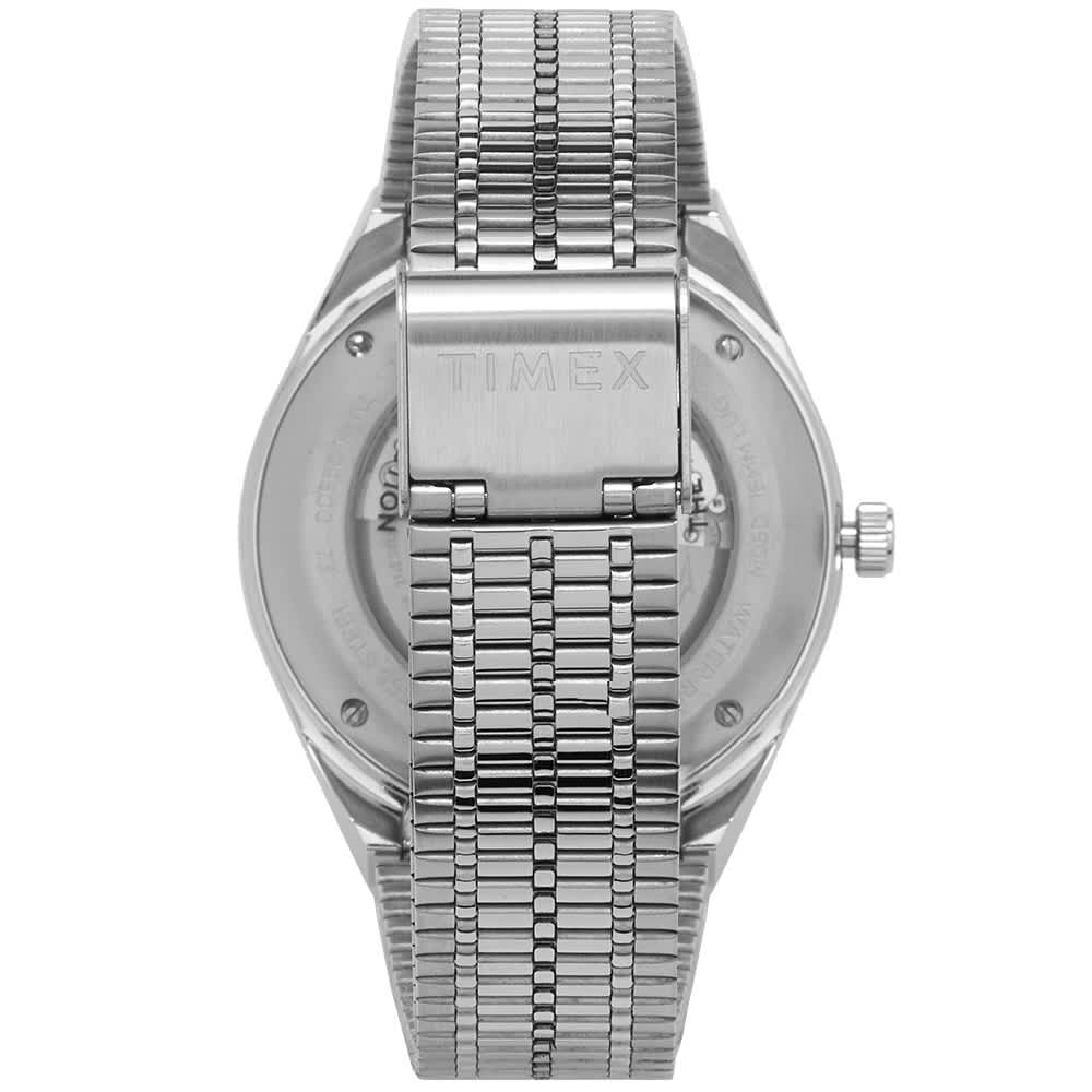 Timex Archive Reissue Diver Style Automatic Watch - Silver & Black