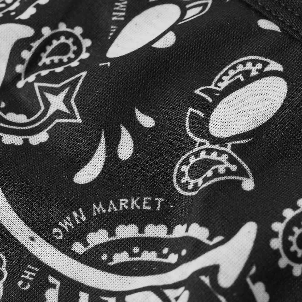 B&W x Chinatown Market Smiley Face Mask - Black