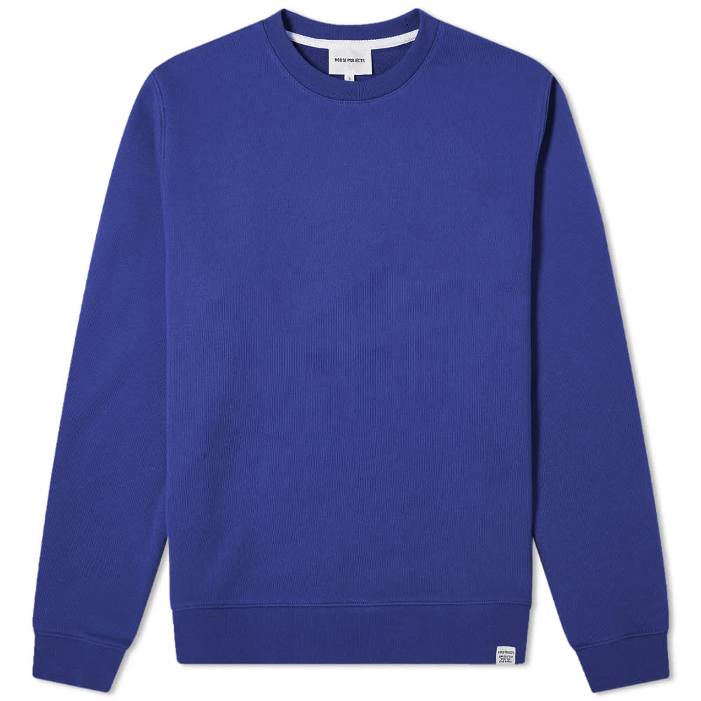 Norse Projects Vagn Classic Crew Sweat - Ultra Marine