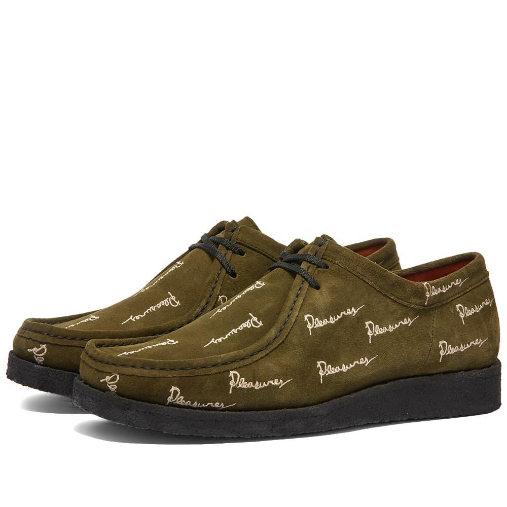 Padmore & Barnes x Pleasures P204 The Original Shoe - Olive
