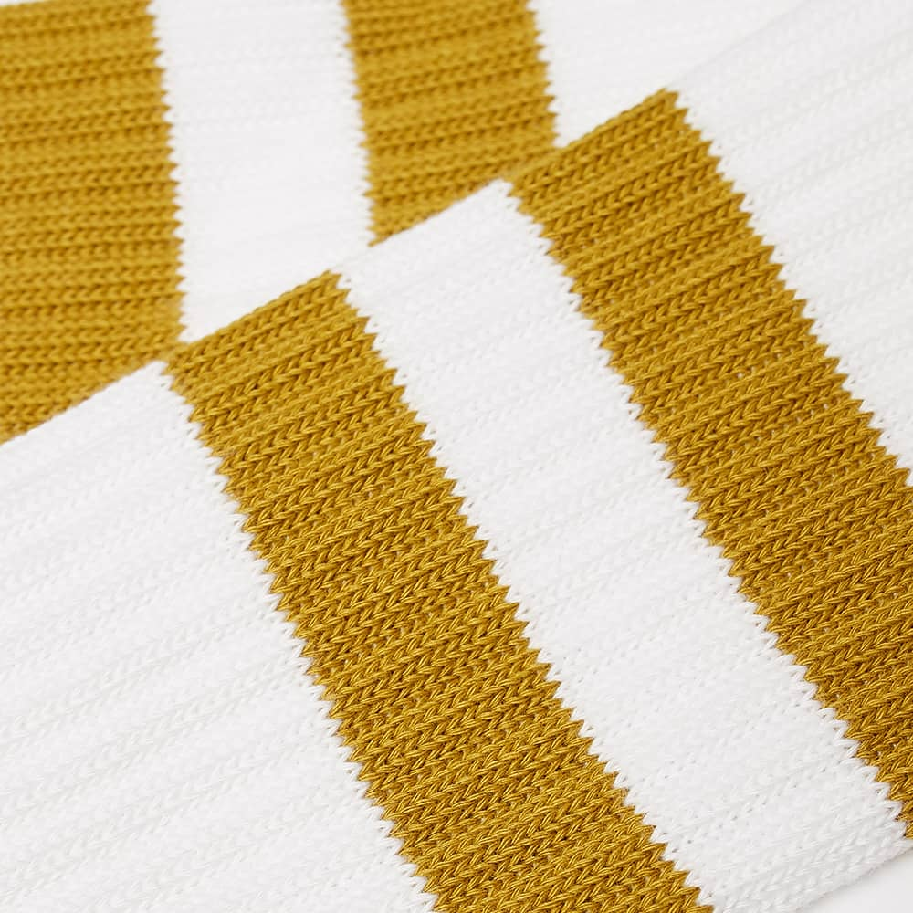 Norse Projects Bjarki Cotton Sport Sock - Chartreus Green