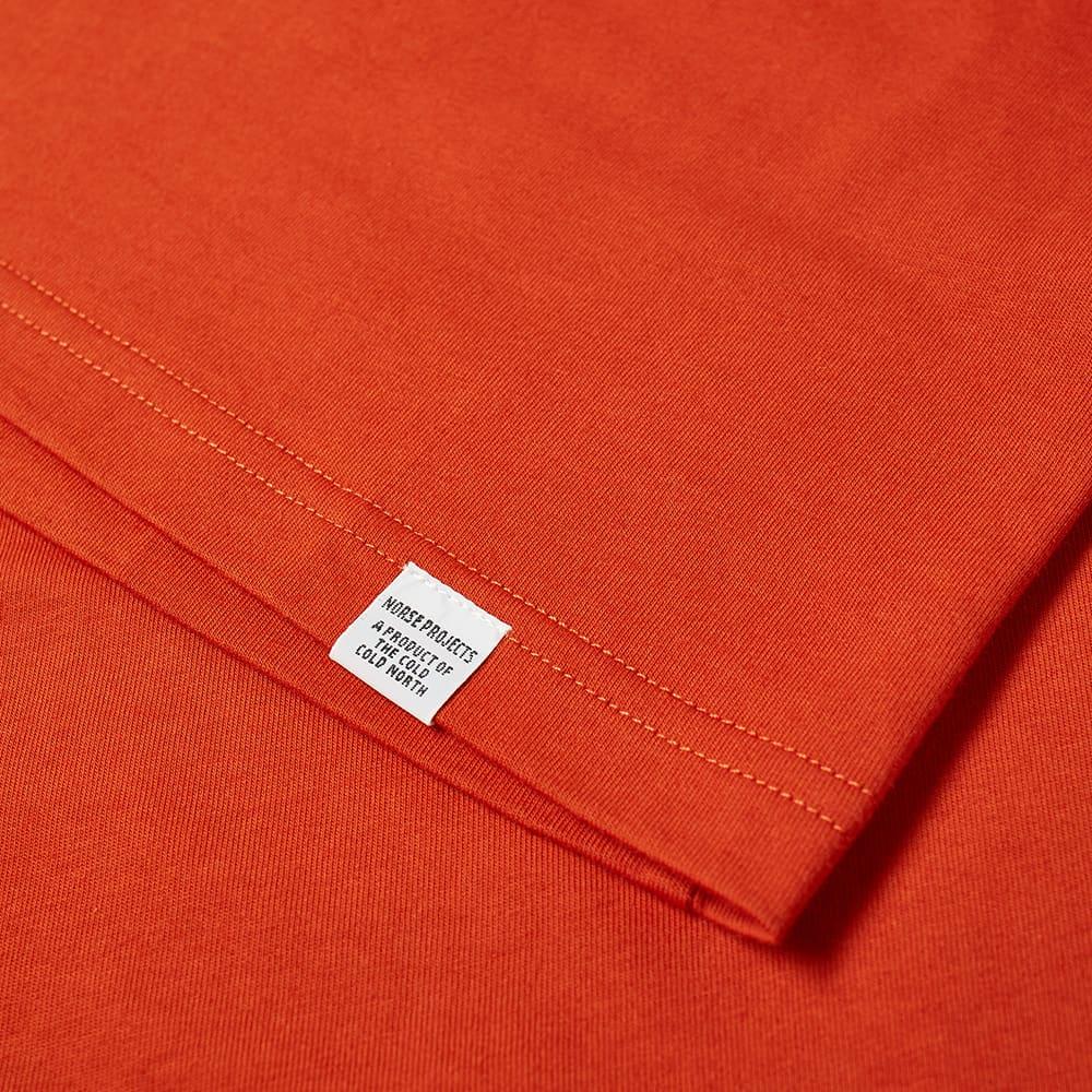 Norse Projects Niels Standard Tee - Industrial Orange