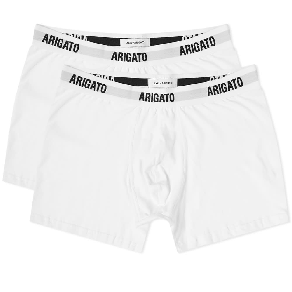 Axel Arigato Signature Boxer Short - 2 Pack - White