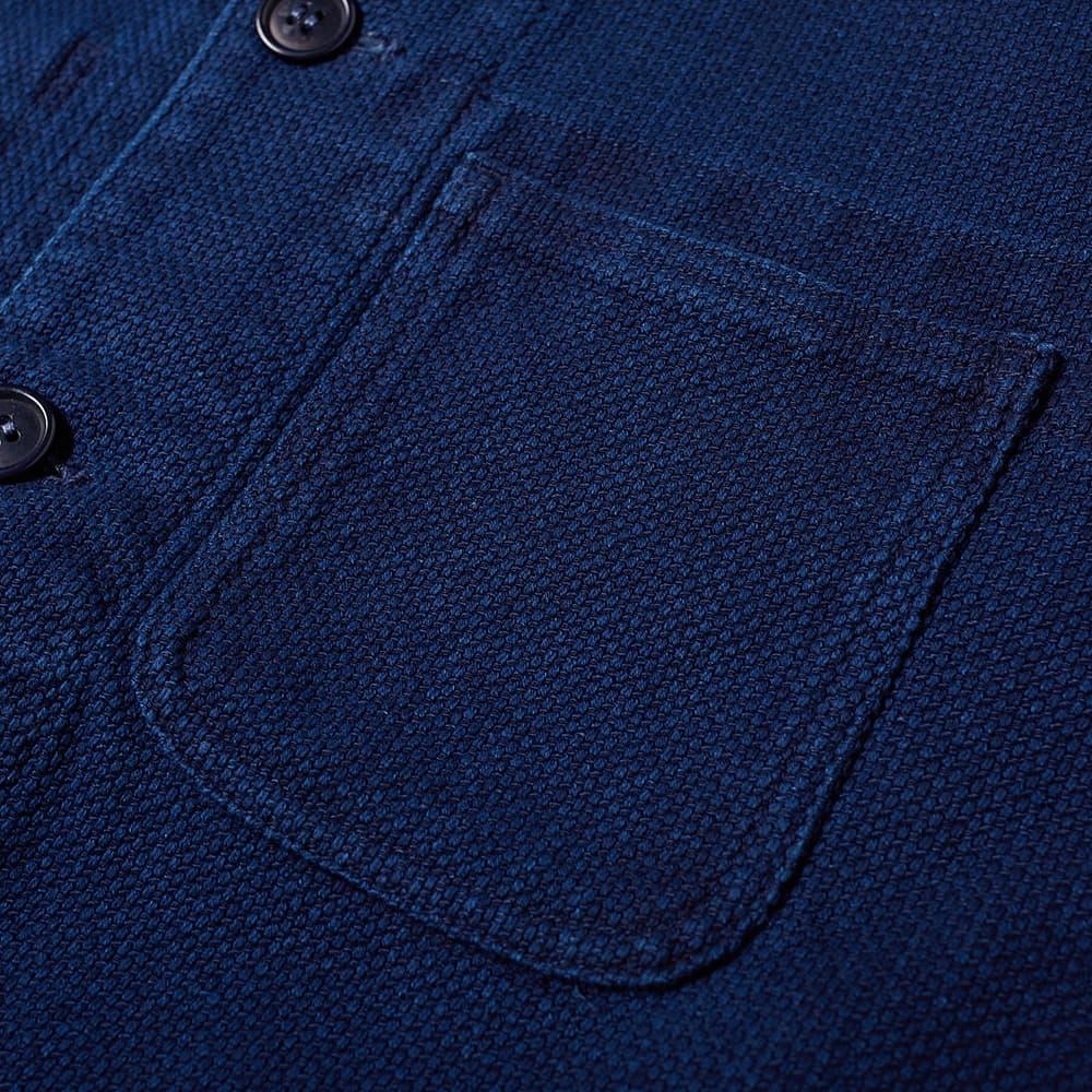 Blue Blue Japan Sashiko Coverall Jacket - Blue