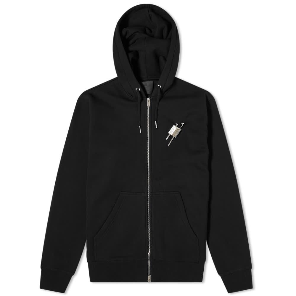 Givenchy Lock Zip Hoody - Black