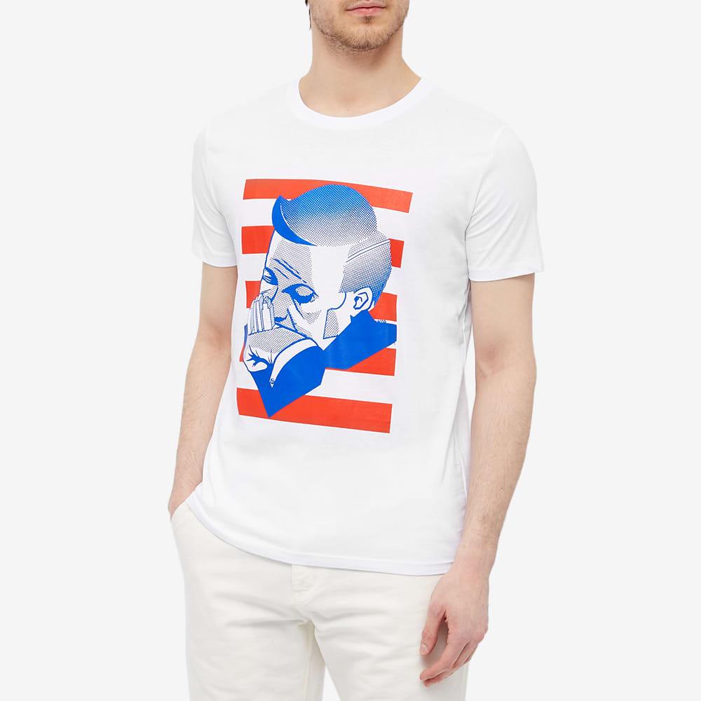 IDEA x Yves Uro New York Tee - White