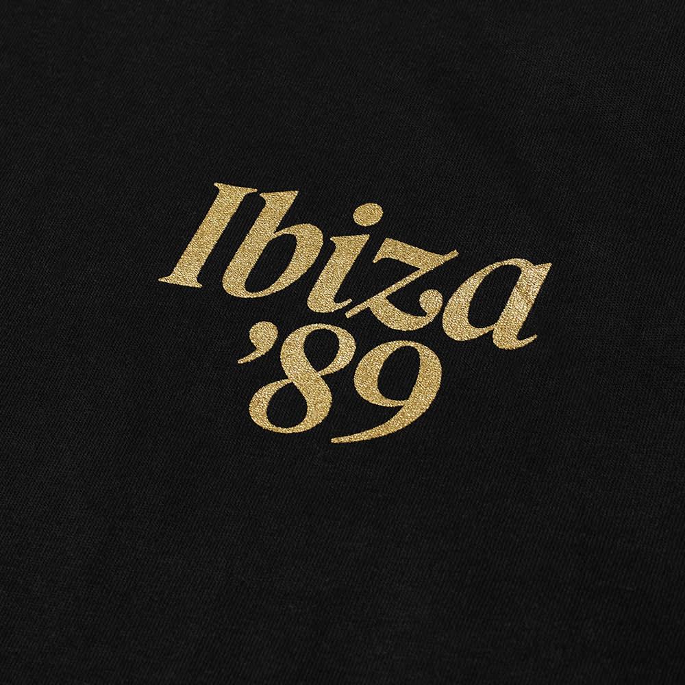 IDEA Ibiza '89 Logo Tee - Black, Gold & White