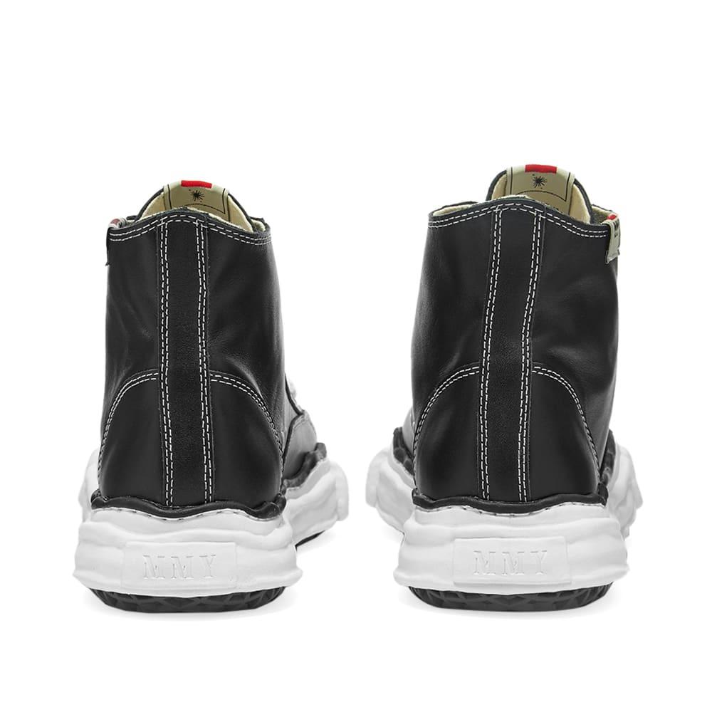 Maison MIHARA YASUHIRO Original Sole Leather Hi-Top Sneaker - Black