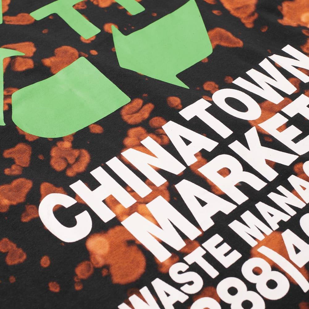 END. x Chinatown Market Waste Management Tee - Black