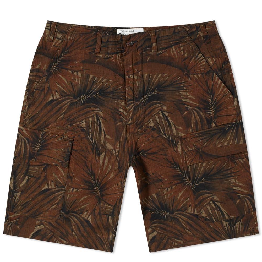 Universal Works Jungle Cargo Short - Brown