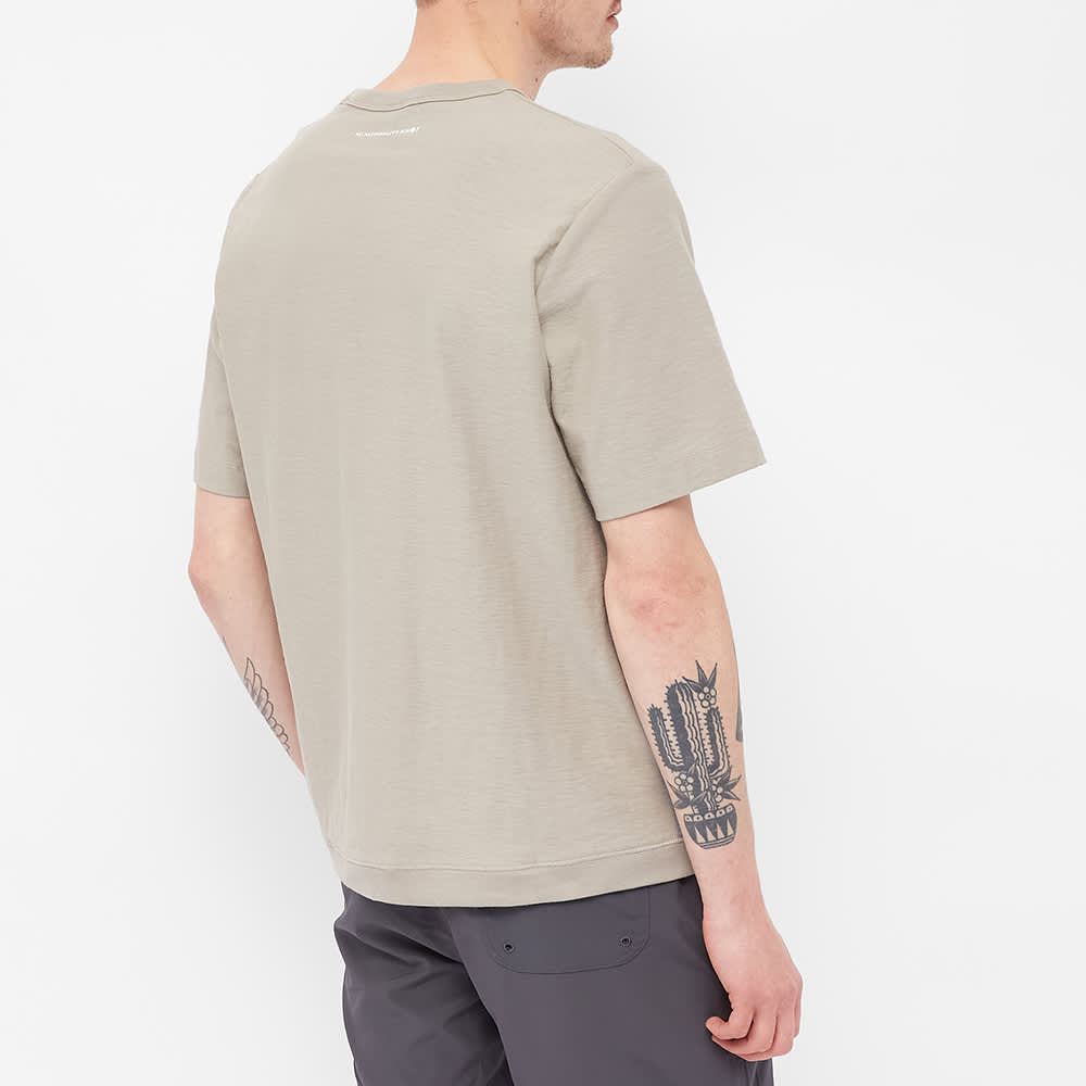NN07 Denzel Pocket Tee - Grey