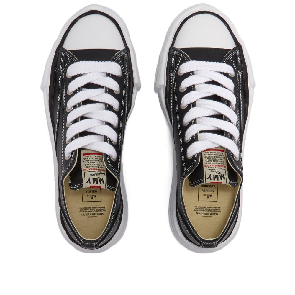 Maison MIHARA YASUHIRO Original Sole Leather Low-Top Sneaker - Black