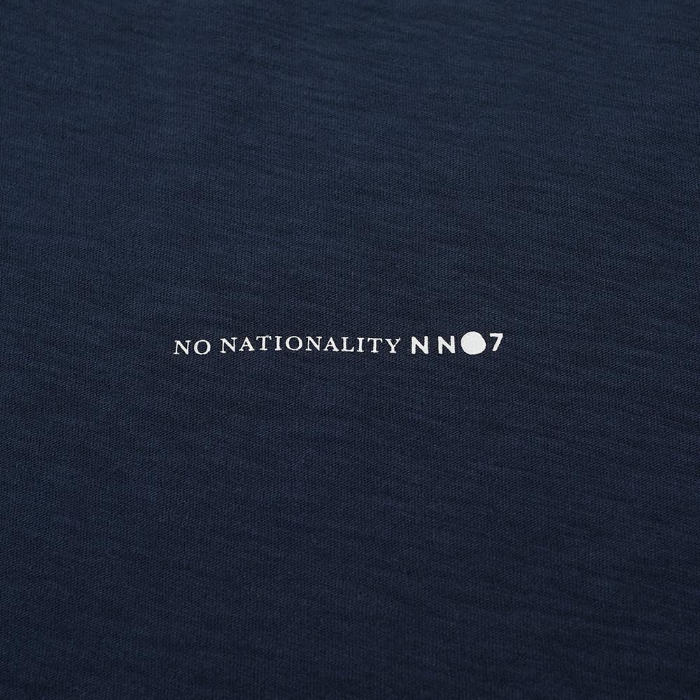 NN07 Aspen Logo Tee - Navy Blue