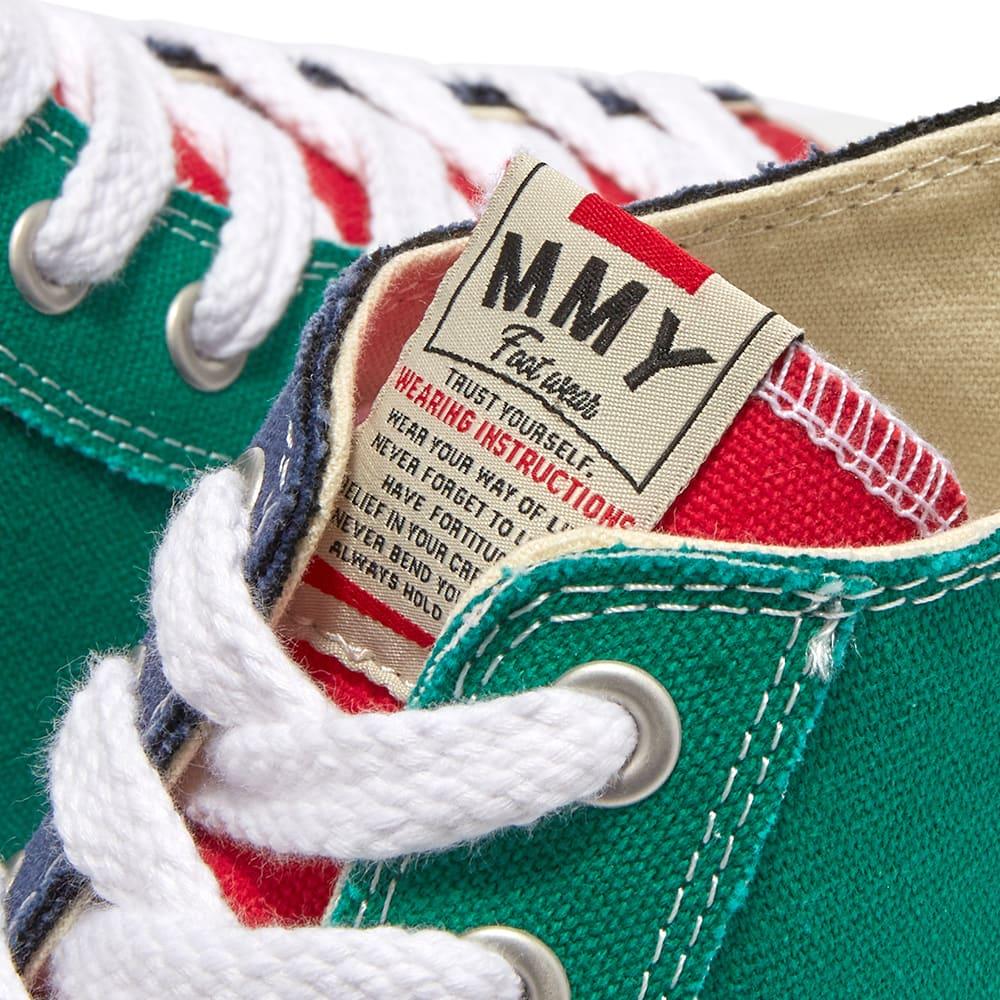 Maison MIHARA YASUHIRO Original Sole Canvas Hi Sneaker - Multi
