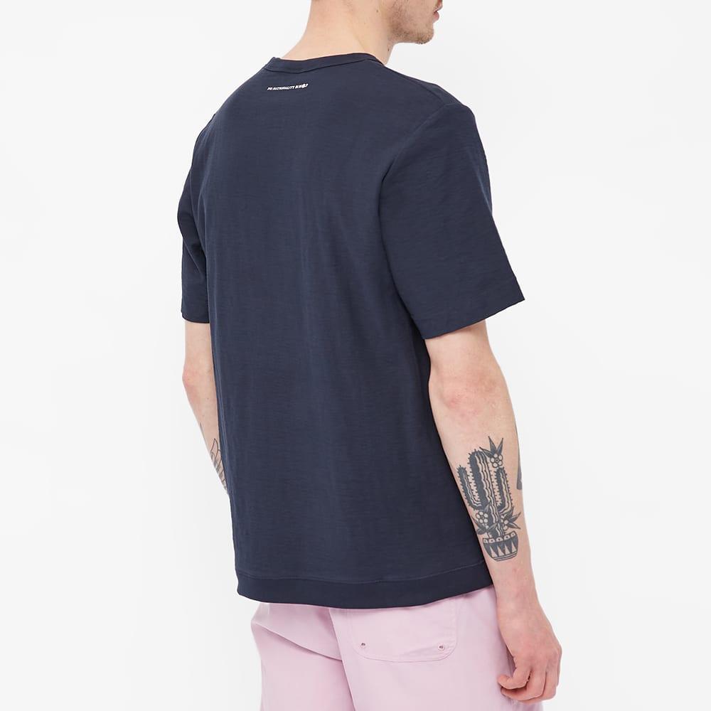 NN07 Denzel Pocket Tee - Navy Blue