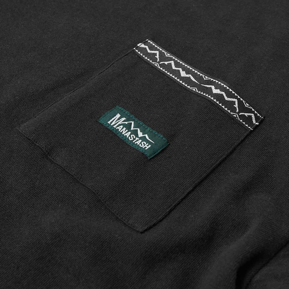 Manastash Hemp Pocket Tee - Black