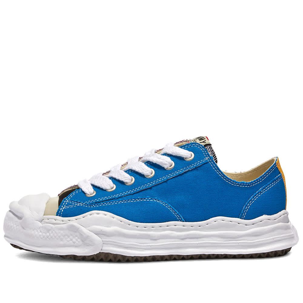 Maison MIHARA YASUHIRO Original Sole Toe Cap Sneaker Low Canvas - Blue & Purple