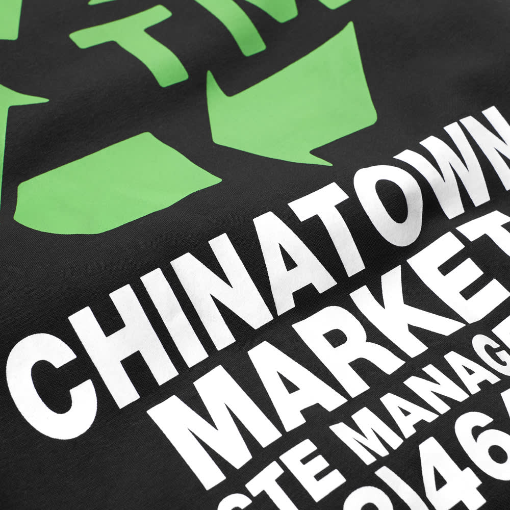 END. x Chinatown Market Waste Management Hoody - Black