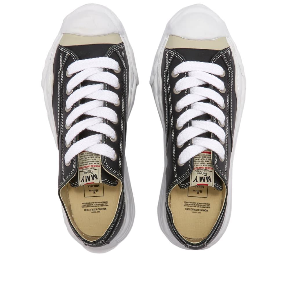 Maison MIHARA YASUHIRO Original Sole Toe Cap Sneaker Low Leather - Black