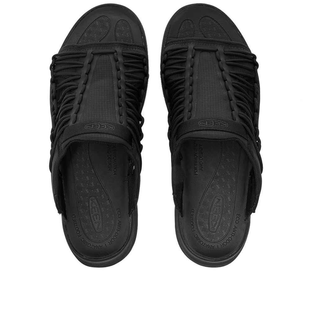 KEEN Uneek Sneaker Slide - Black