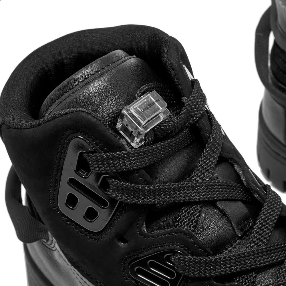 Acne Studios Perey Face 2 Strap Sneaker - Multi & Black