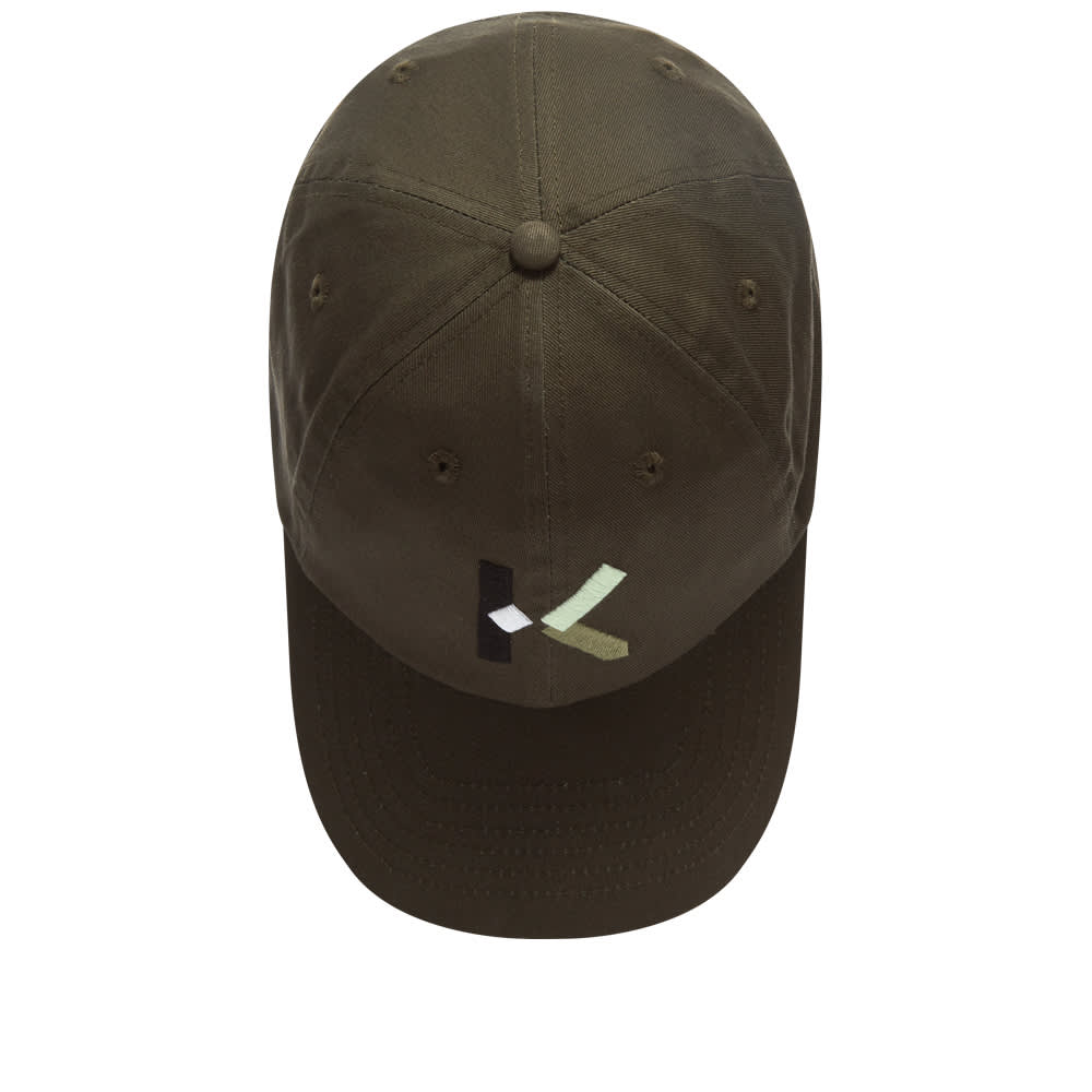 Kenzo K Logo Cap - Stone Grey