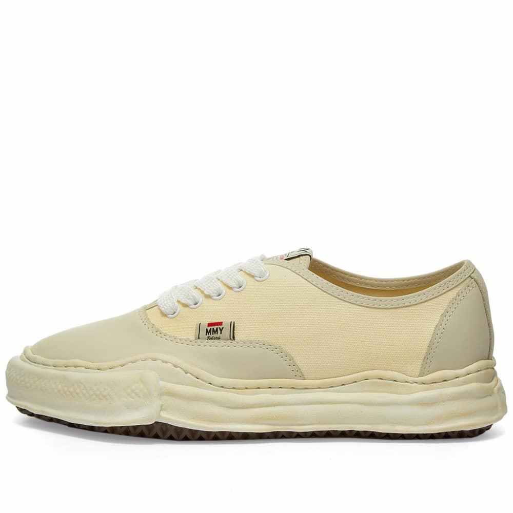 Maison MIHARA YASUHIRO Original Sole Overdyed Low Sneaker - Beige