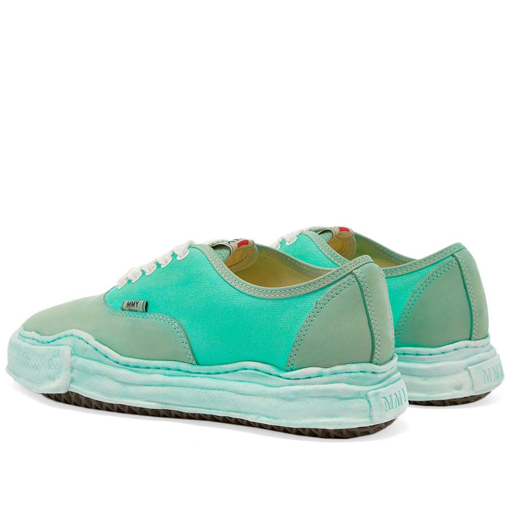 Maison MIHARA YASUHIRO Original Sole Overdyed Low Sneaker - Emerald