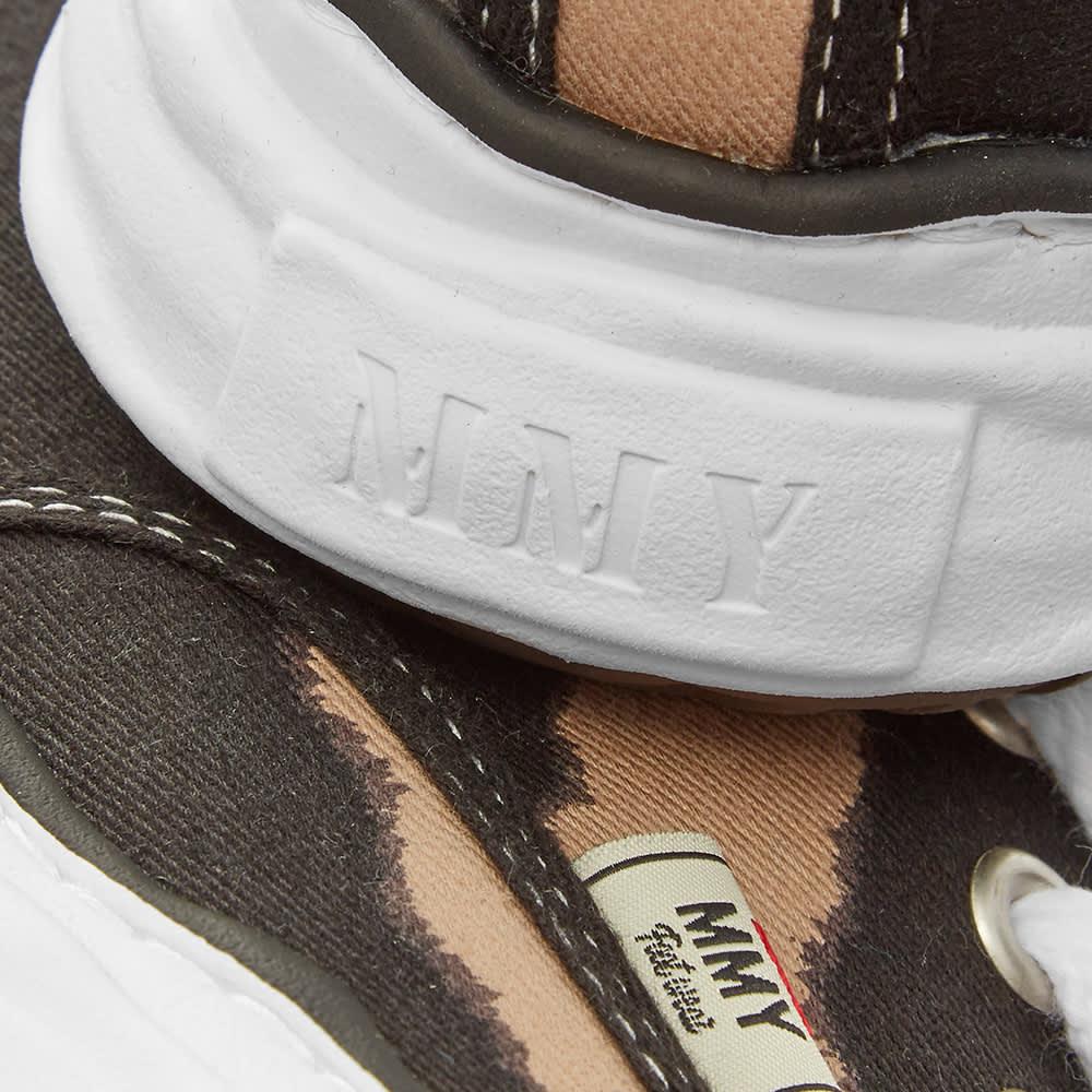 Maison MIHARA YASUHIRO Original Sole Cow Print Low Sneaker - Beige