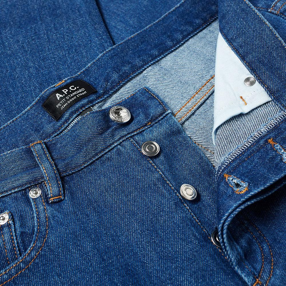 A.P.C. Petit Standard Jean - Indigo Delave