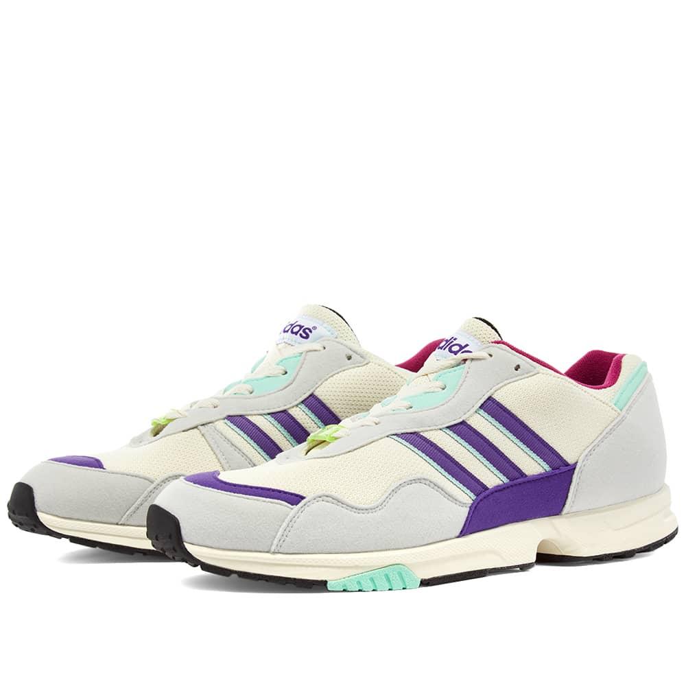 Adidas HRMNY SPZL - White, Pink & Mint