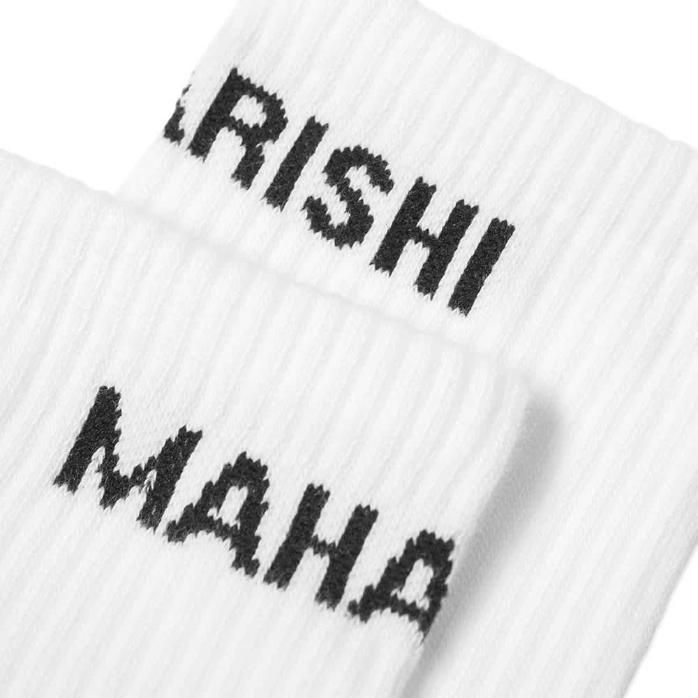 Maharishi MILTYPE Dragon Sock - 3 Pack - White